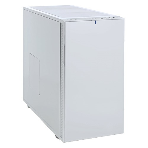 Define R5 White Silent Mid-Tower Case, ATX, No PSU, Plastic/Steel