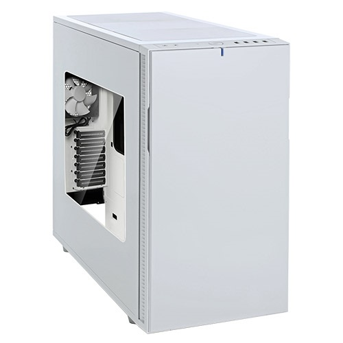 Define R5 White Window Silent Mid-Tower Case, ATX, No PSU, Plastic/Steel