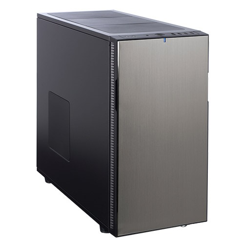 Define R5 Titanium Silent Mid-Tower Case, ATX, No PSU, Plastic/Steel