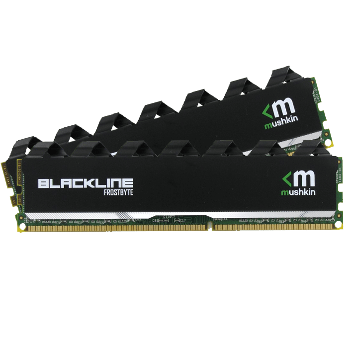 16GB (2 x 8GB) Enhanced Blackline PC4-17000 DDR4 2133MHz CL12 (12-12-12-35) 1.2V SDRAM DIMM, Non-ECC Memory