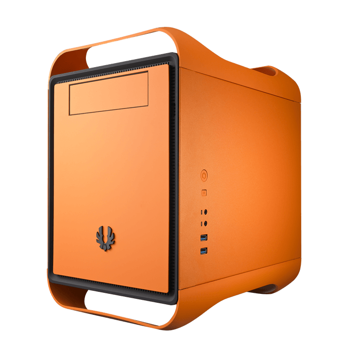 Prodigy M Atomic Orange No PSU Micro ATX Mini Tower Case