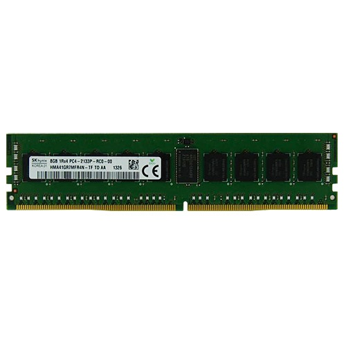8GB PC4-17000 DDR4 2133MHz CL15 SDRAM DIMM, ECC Registered
