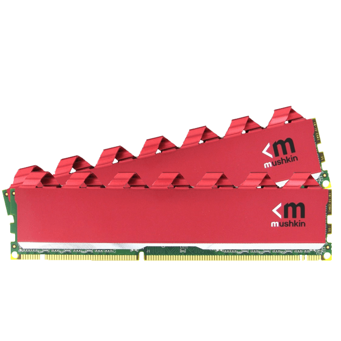 8GB (2 x 4GB) Enhanced Redline PC4-21300 DDR4 2666MHz CL15 (15-15-15-35) 1.2V SDRAM DIMM, Non-ECC Red Memory