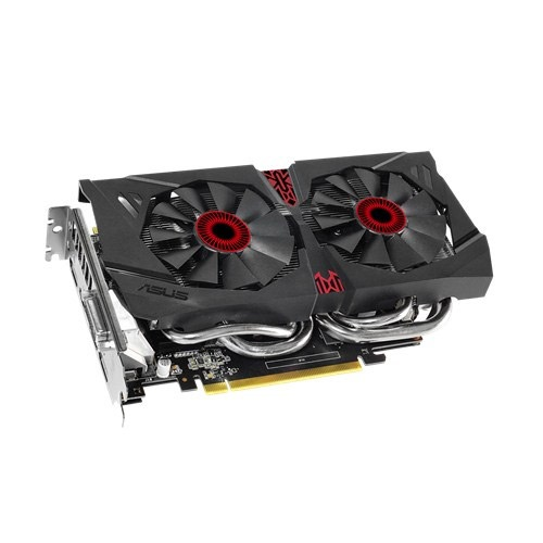 GeForce® STRIX GTX 960 1228-1317MHz, 2GB GDDR5 7200MHz, PCIe x16 SLI, 3x DP + HDMI + DVI, Retail