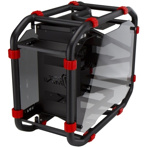 "D-Frame Mini Black Mini-Tower Case, 3 x 3.5""/2.5"