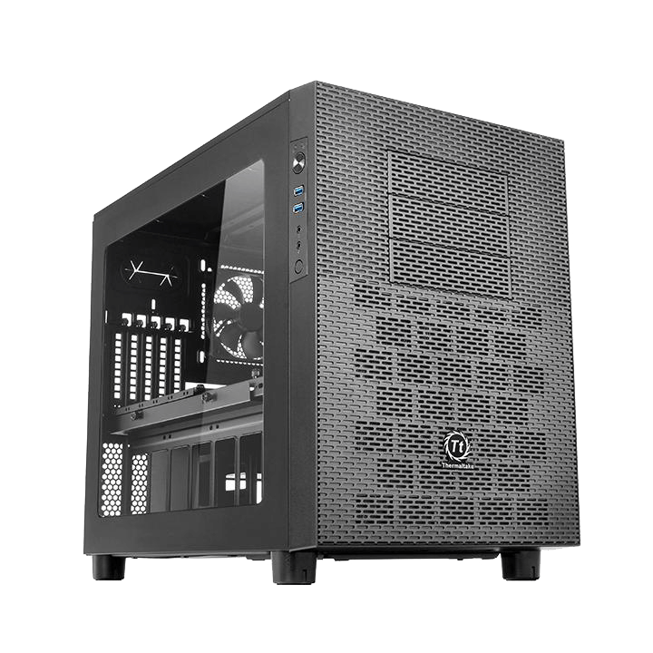 Core X9 Black Window No PSU SPCC ATX Cube Case