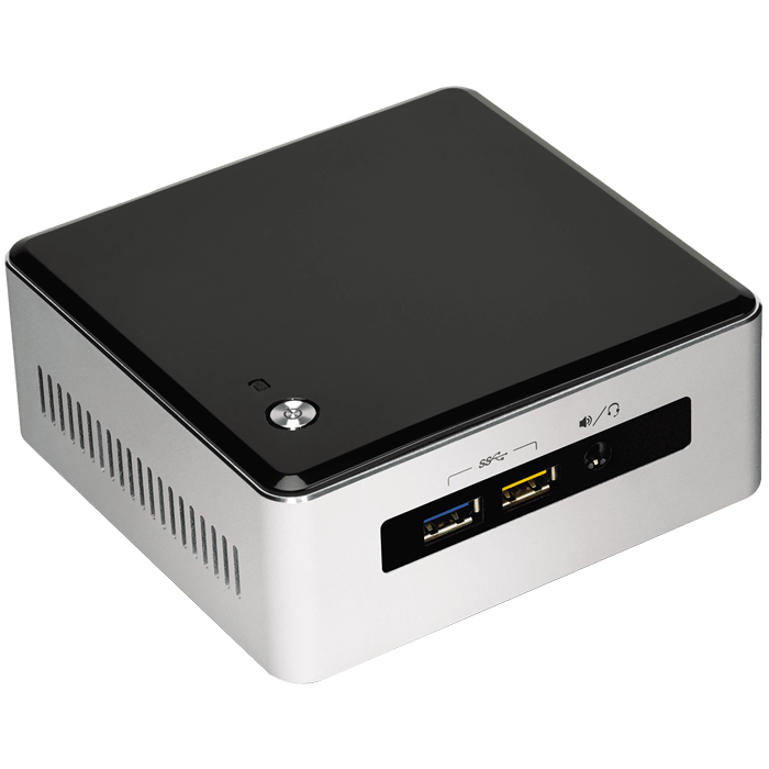 NUC5i5MYHE, Intel Core i5-5300U, 2x DDR3L SO-DIMM, M.2, 2.5