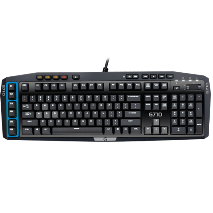 G710, 110 Key, Wired USB, Black, Retail Mechanical Gaming Keyboard
