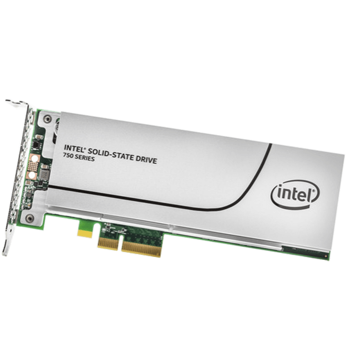 Intel® SSD 750 Series 400GB PCIe 3.0 x4 NVMe Solid State Addon Card