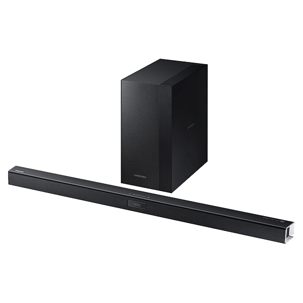 HW-J450, 2.1 (300W RMS), Wireless Remote, Black, Retail Soundbar System
