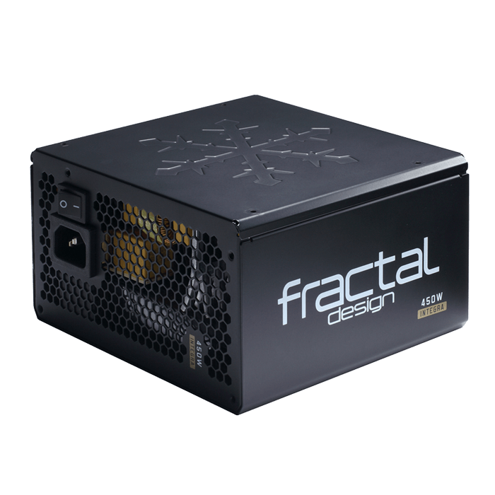 Integra M Series FD-PSU-IN3B-450W 450W, 80 PLUS Bronze, Semi Modular, ATX Power Supply
