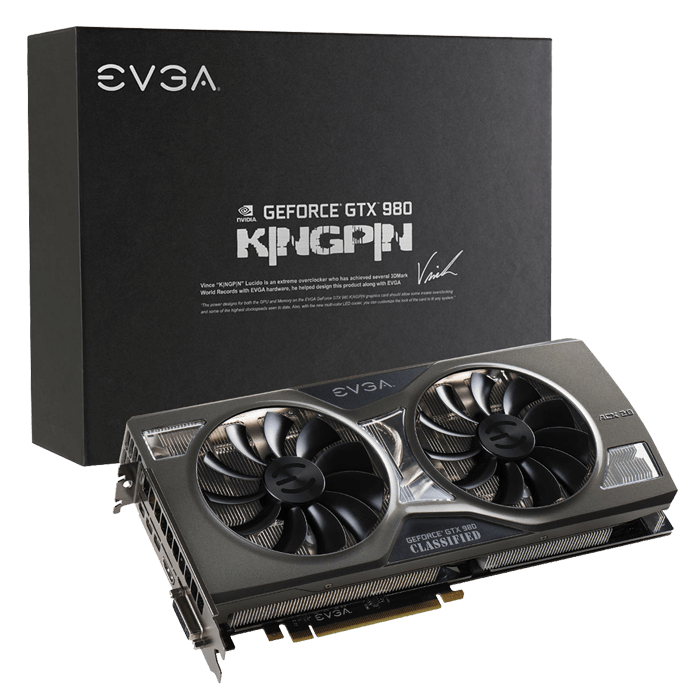 GeForce GTX 980 K|NGP|N ACX 2.0+ 1304-1418MHz 4GB 256-Bit GDDR5 Graphics Card