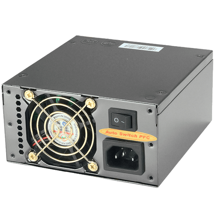Apollo Series® 600 Watts, 80 PLUS® BRONZE, Active PFC, No Modular, Micro SFX, Power Supply