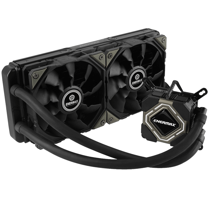 Liqmax II 2x120mm, Socket LGA 2011-3/1151/1150/1155, FM2/AM3+/AM2+ CPU Liquid Cooling System