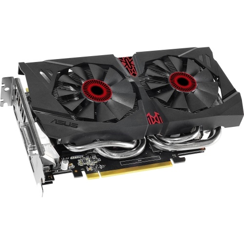 STRIX-GTX960-DC2OC-4GD5, GeForce® STRIX GTX 960 1291-1317MHz, 4GB GDDR5 7010 MHz Graphic Card