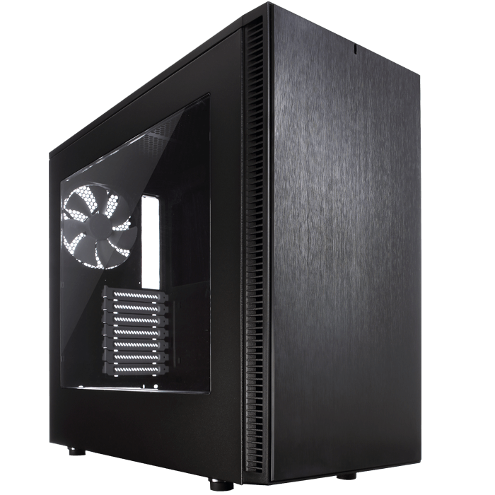 Define Series S w/ Window, No PSU, ATX, Black, Mid Tower Case