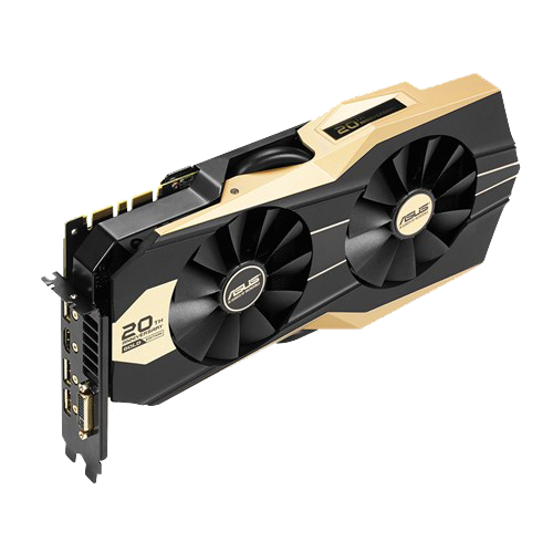 GeForce GTX 980 4GB 256-Bit GDDR5 HDCP Ready 20th Anniversary Gold Edition Video Card