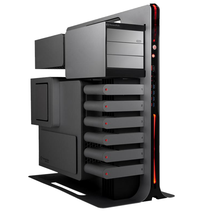 Level 10 Titanium Edition VL300A9N1N Aluminum USB 3.0 Black / Titanium ATX Gaming Full Tower Computer Case