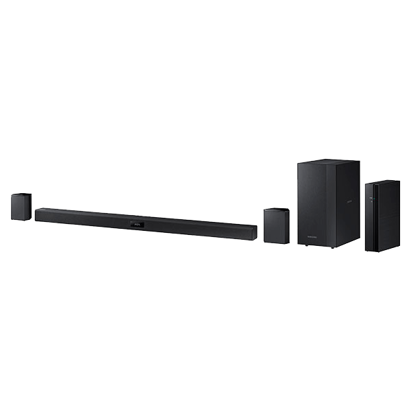 HW-J370, 2.1 (200W RMS), Bluetooth, USB, Black, Retail Soundbar System