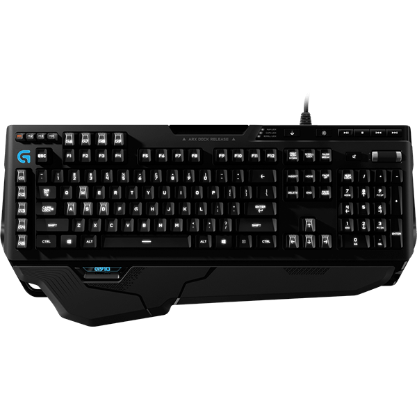 Orion Spark G910, RGB illumination, 9 programmable G-keys, Wired USB, Black, Retail Mechanical Gaming Keyboard