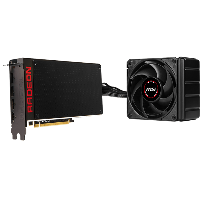 Radeon R9 Fury X 4GB 4096-Bit HBM PCI Express 3.0 HDCP Ready CrossFireX Support ATX Video Card