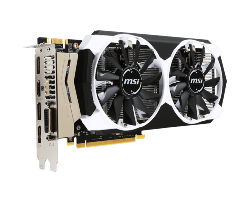 GeForce GTX 960 4GD5T OC, 1178 - 1241MHz, 4GB GDDR5 128-Bit, PCI Express 3.0 Graphics Card