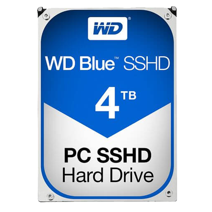 WD BLUE 4 TB Internal Hybrid Hard Drive SATA 6Gb/s 5400 rpm 64 MB Buffer OEM
