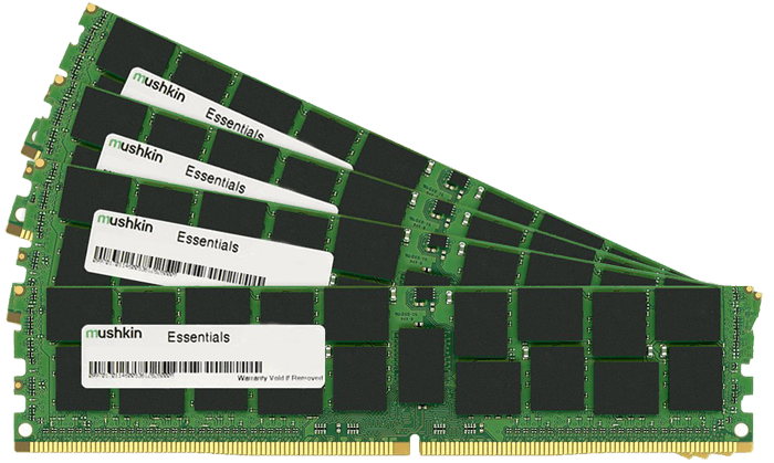 Enhanced Essentials 32GB (4 x 8GB) 288-Pin DDR4 2133MHz SDRAM UDIMM CL15 (PC4 17000) Desktop Memory