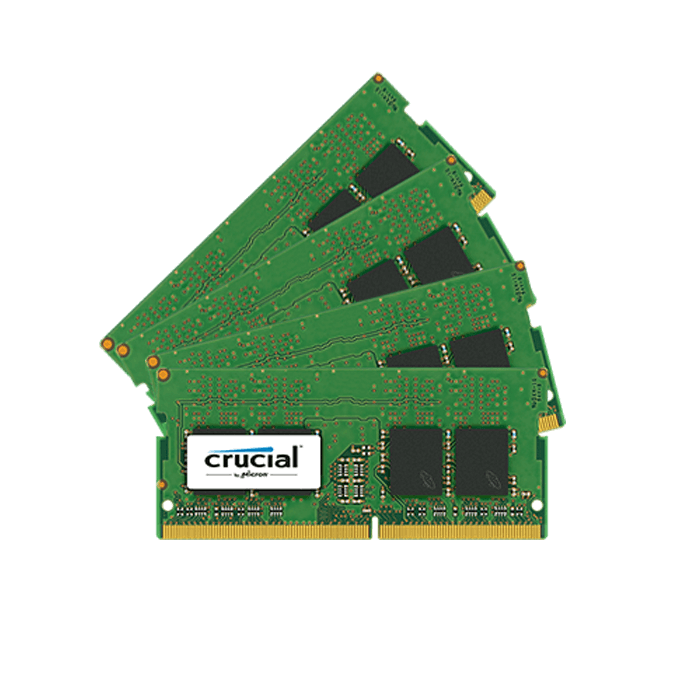 32GB (4 x 8GB) PC4-17000 DDR4 2133MHz CL15 1.2V SDRAM SO-DIMM ECC Unbuffered Memory