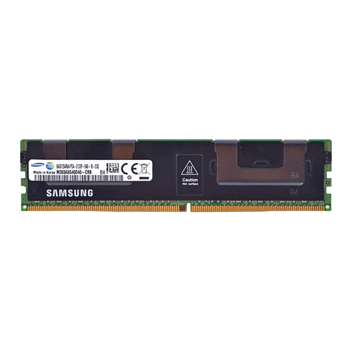 64GB Eight-Rank PC4-17000 DDR4 2133MHz CL15 1.2V SDRAM DIMM, ECC Registered Memory
