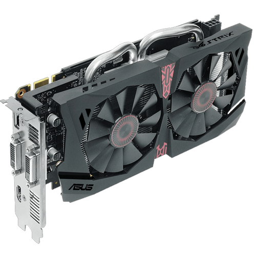 GeForce GTX 950 STRIX-GTX950-DC2OC-2GD5-GAMING 2GB 128-Bit GDDR5 PCI Express 3.0 HDCP Ready SLI Support Video Card