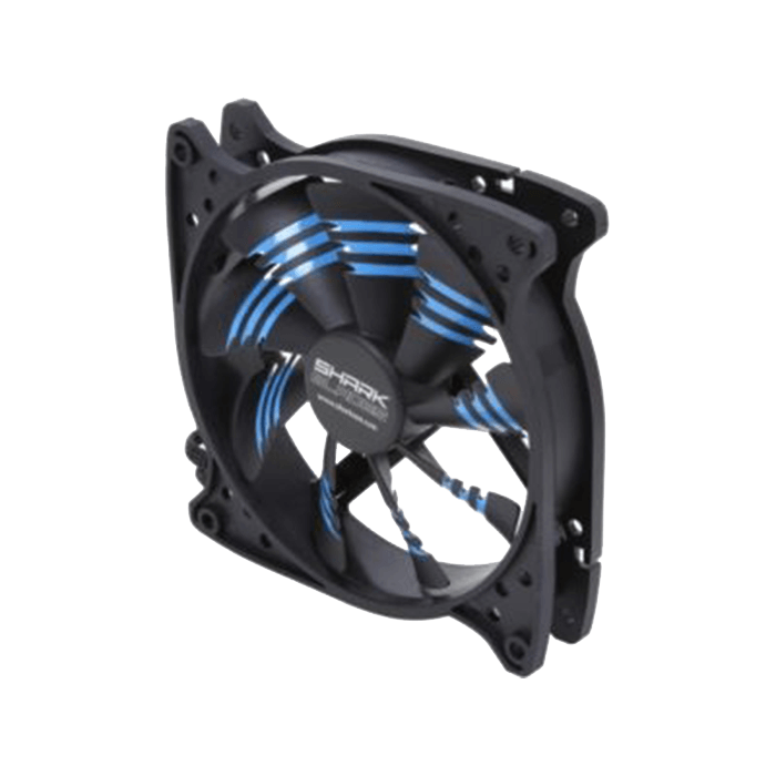 Shark Blade 120mm Cooling Case Fan Blue