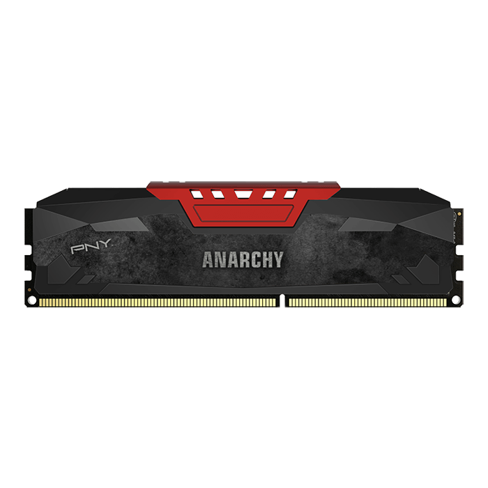 Anarchy® 4GB 240-Pin Red PC3-14900 DDR3 1866MHz SDRAM DIMM CL10 NON-ECC 1.5V Memory
