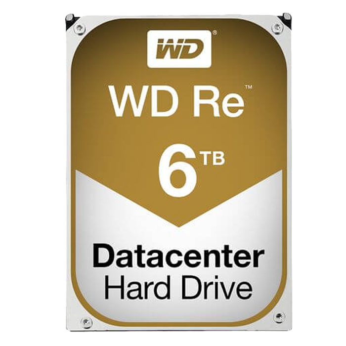WD Re 6 TB, Internal Hard Drive, SATA 6Gb/s, 7200 rpm, 512E, 128 MB Buffer, OEM