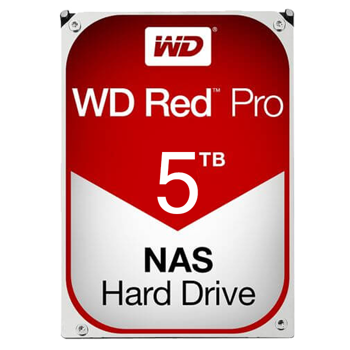 WD RED PRO 5 TB Internal Hard Drive SATA 6Gb/s 7200 rpm 128 MB Buffer OEM