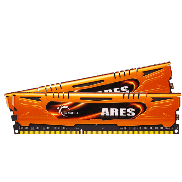 8GB (2 x 4GB) Ares PC3-17000 DDR3 2133MHz CL11 (11-11-11-30) 1.60V SDRAM DIMM, Non-ECC, Unbuffered Memory