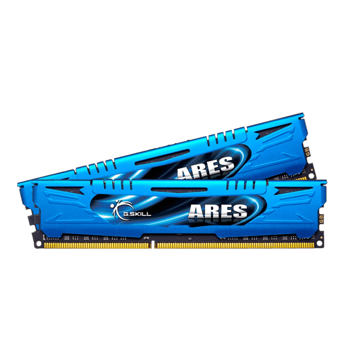 8GB (2 x 4GB) Ares PC3-17000 DDR3 2133MHz CL10 (10-12-12-31) 1.60V SDRAM DIMM, Non-ECC, Unbuffered Memory