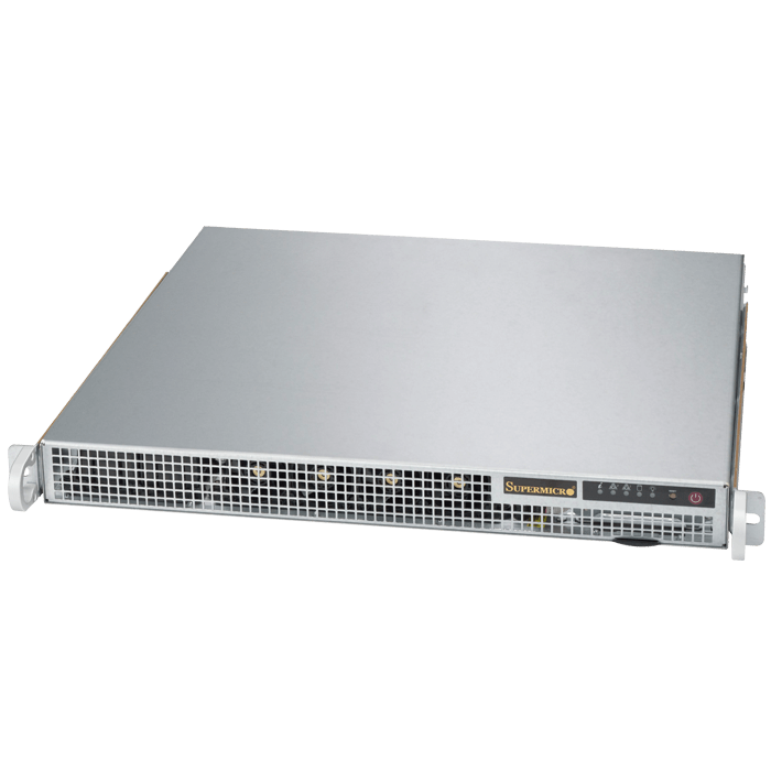 1019S-M2 1U Rack Server Platform, LGA1151, Intel® Q170, DDR4-2133 Non-ECC UDIMM 64GB / 4, SATA RAID 0.1 / 2, VGA,Display Port / 2, DVI-I, GbLAN / 2, IPMI, 400W Rdt PSU w/ PMBus and I2C