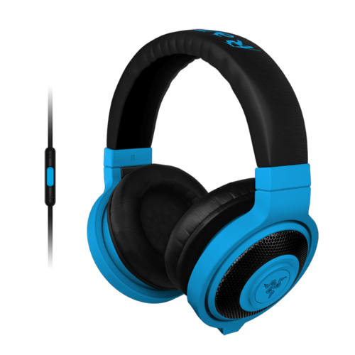 Kraken Neon Blue, Retail Gaming Headset