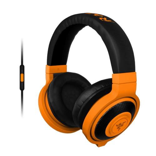 Kraken, Neon Orange, Retail Gaming Headset
