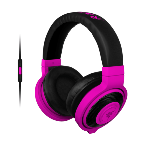 Kraken Neon Purple, Retail Gaming Headset