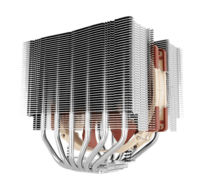 140mm SSO2 D-Type Premium CPU Cooler, NF-A15 PWM Fans
