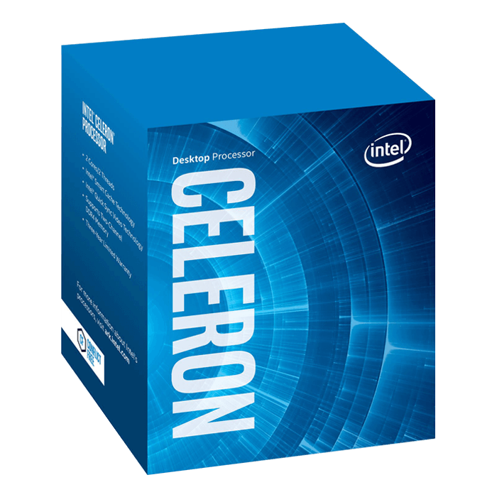 Celeron G3930 Dual-Core 2.9GHz, HD Graphics 610, LGA 1151, 2MB L3 Cache, DDR3L / DDR4, 14nm, 51W, Retail Processor