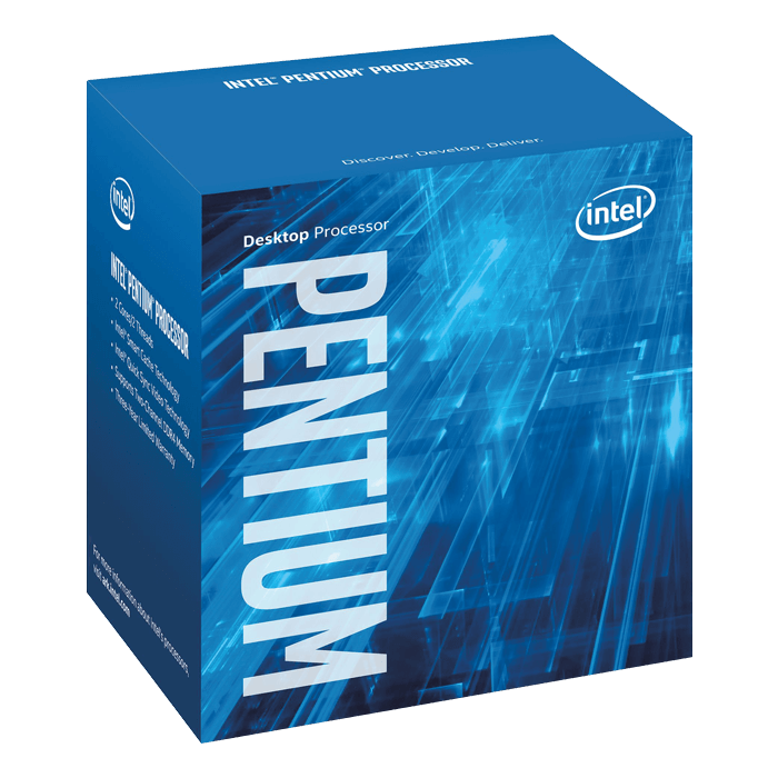 Pentium G4600 Dual-Core 3.6GHz, HD Graphics 630, LGA 1151, 3MB L3 Cache, DDR3L / DDR4, 14nm, 51W, Retail Processor