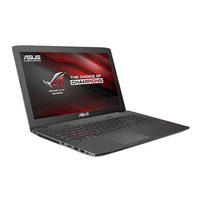 ASUS ROG GL552VW-DH74, Intel Core i7-6700HQ, Gaming Notebook, 15.6