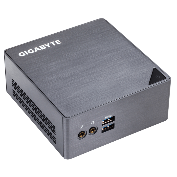Gigabyte BRIX GB-BSi3H-6100 6th generation Intel® Core™ i3-6100U Mini PC