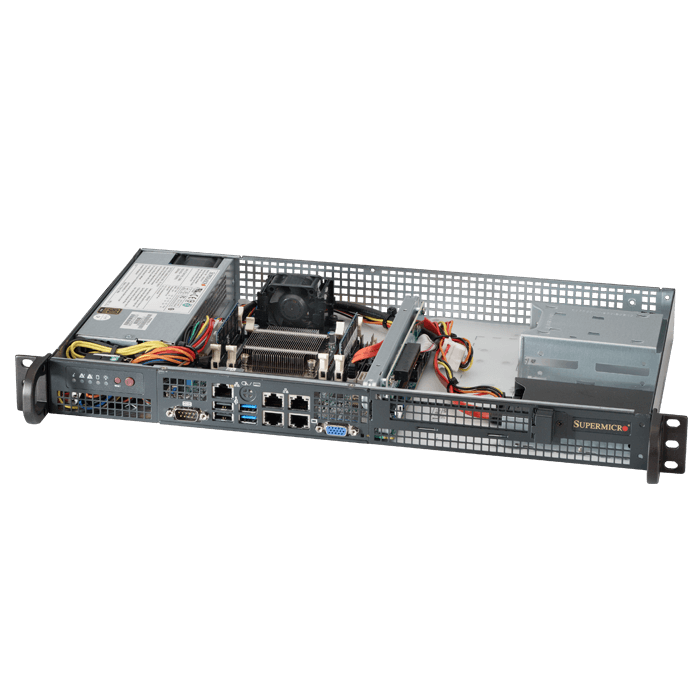 1U Rack Server - Supermicro 5018A-FTN4 Atom™ SATA Series Server System
