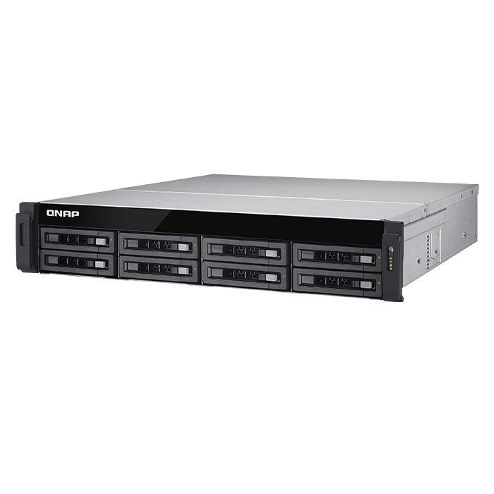 Storage Server - TS-EC880U R2 Xeon® E3-1246 v3 SATA/SAS 8-bay High Performance Unified Storage Server System
