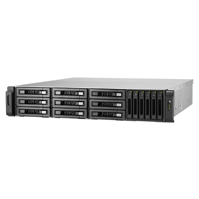 Storage Server - TVS-EC1580MU-SAS-RP R2 Xeon® E3-1246 v3 SATA/SAS 15-bay SAS-Enabled Hybrid NAS Server System