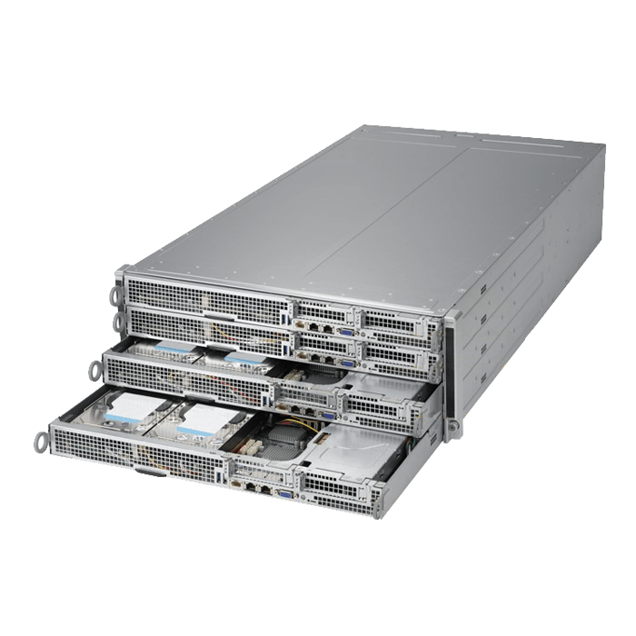 4U Rack Server - F618H6-FT+ Octa Xeon® E5-2600 v3/v4 SAS/SATA Series 4U Rack Server